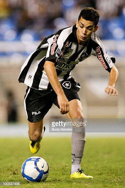 Caio of Botafogo in action during a match as part of the Brazilian Championship at Engenhao Stadium on May 22 2010 in Rio de Janeiro Brazil