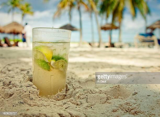 Caipi on the beach
