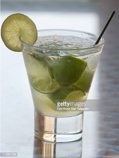 A Caipirinha is a featured spring drink at Macs on 7th Street in Fort Worth Texas