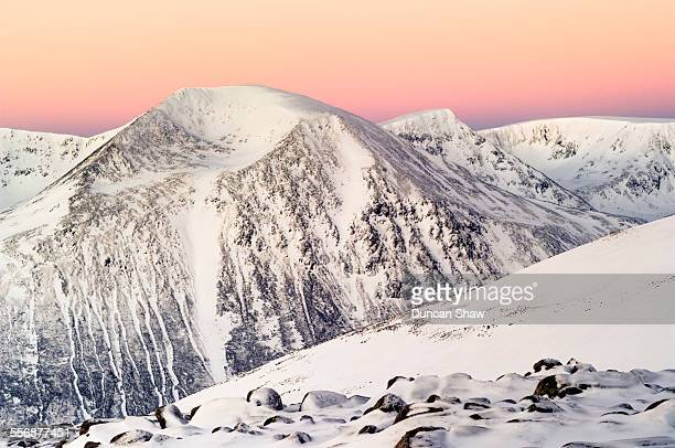 cairngorms in winter - braemar stock pictures, royalty-free photos & images