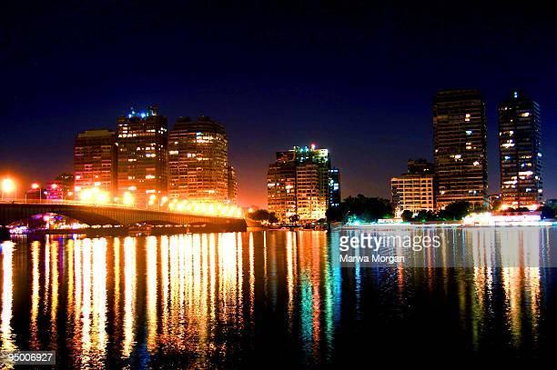 Cairo at night.