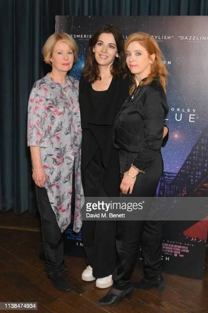 Cairo Cannon Nigella Lawson and Carol Morley attend an exclusive preview screening of Out Of Blue at the Picturehouse Central on March 26 2019 in...