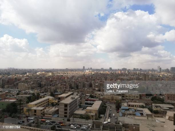 Cairo city view from a rooftop
