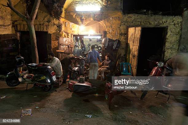 Sukh al salih street in Bab el Wazir area street life in Cairo