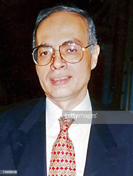 An undated file photo shows Ashraf Marwan soninlaw of the late Egyptian president Gamal Abdel Nasser in Cairo Egyptian billionaire Marwan was found...