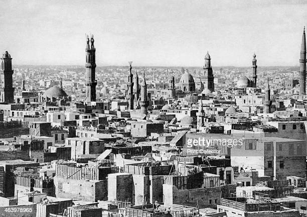 Cairo Egypt c1920s Plate taken From In the Land of the Pharaohs published by Lehnert Landrock