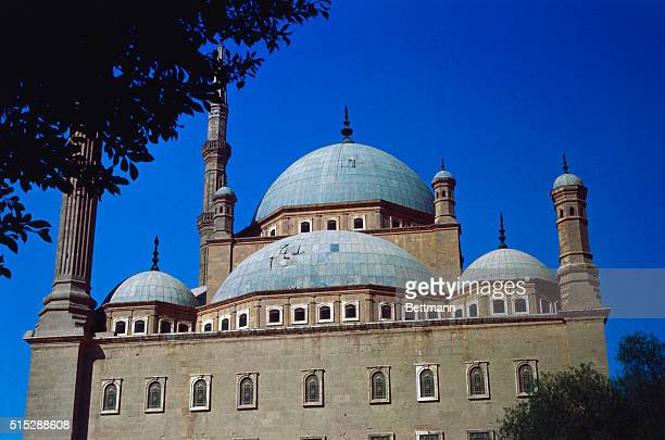 The famous Muhammad Ali Mosque on the Mokkattam Hills overlooking Cairo This spot is also known as the Citadel