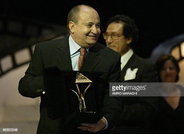 Veteran Egyptian screen writer Wahid Hamed is honoured at the 29th edition of the Cairo international film festival which opened late 29 November...
