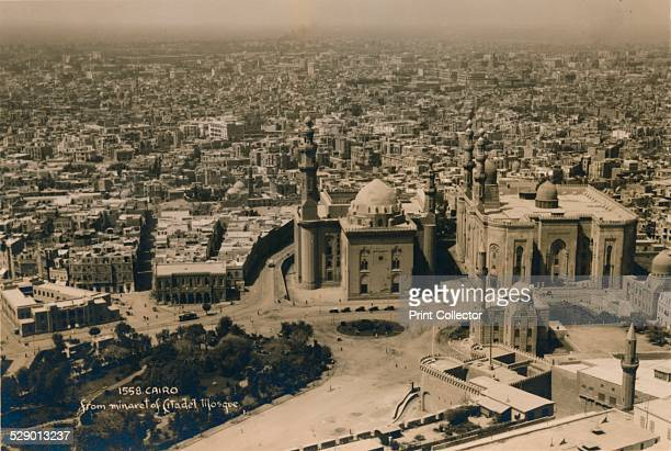 Cairo from the minaret of Citadel Mosque 1936 The Great Mosque of Muhammad Ali Pasha or Alabaster Mosque is a mosque situated in the Citadel of Cairo...