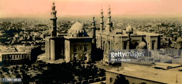 General view and Sultan Hassan Mosque' circa 1918circa 1939 From an album of postcards Artist Unknown