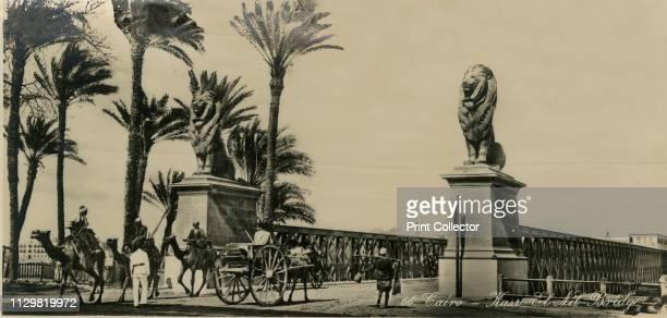 Cairo KasrElNil Bridge' circa 1930circa 1939 From an album of postcards Artist Unknown