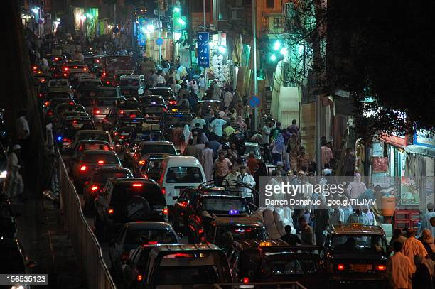 cairo market at night - egyptian culture stock photos and pictures
