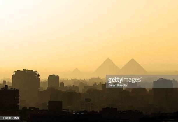 cairo skyline - kairo stock-fotos und bilder