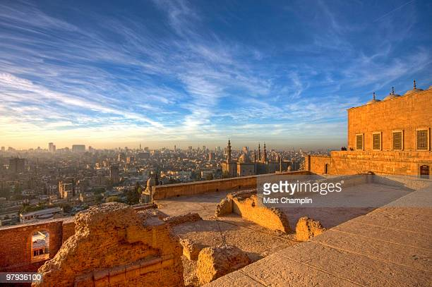cairo skyline - egypt stock pictures, royalty-free photos & images