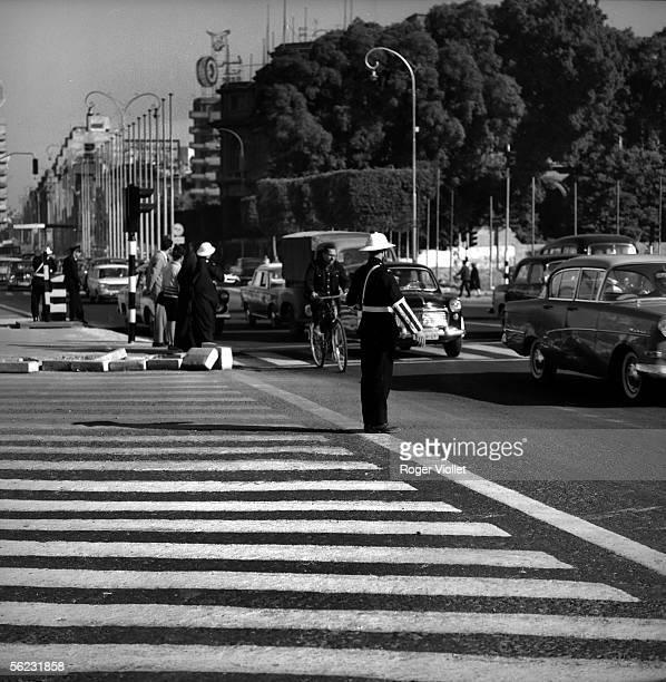Cairo Traffic policeman December 1965 RV290058