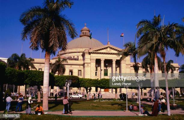 Cairo University, in the heart of Giza on the west bank of the Nile, is the city's largest university - Cairo