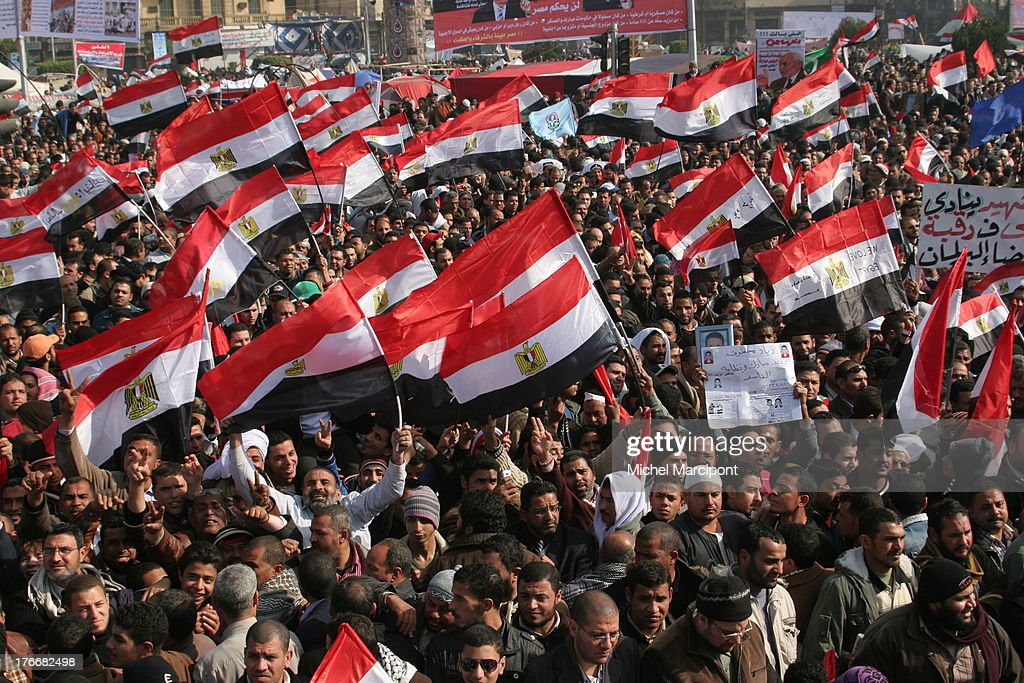 25th January Revolution celebration in Egypt : News Photo