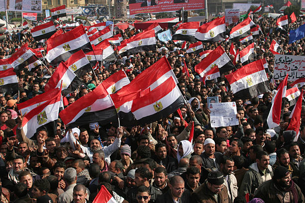 EGY: 25th January 2011 - Start Of The Egyptian Revolution Of 2011