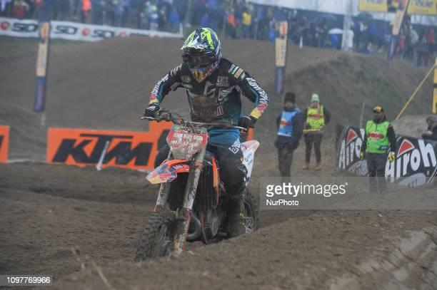 Cairoli Antonio in action during the International Italy Motocross MX on 10 February 2019 in Mantova Italy at circuit Tazio Nuvolari