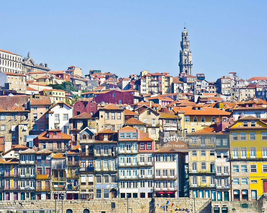 Cais Da Ribeira, Porto, Portugal : ストックフォト