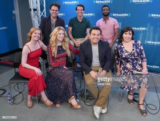 Caissie Levy Patti Murin Robert Lopez Kristen AndersonLopez Greg Hildreth John Riddle and Jelani Alladin take part as SiriusXM on Broadway presents...