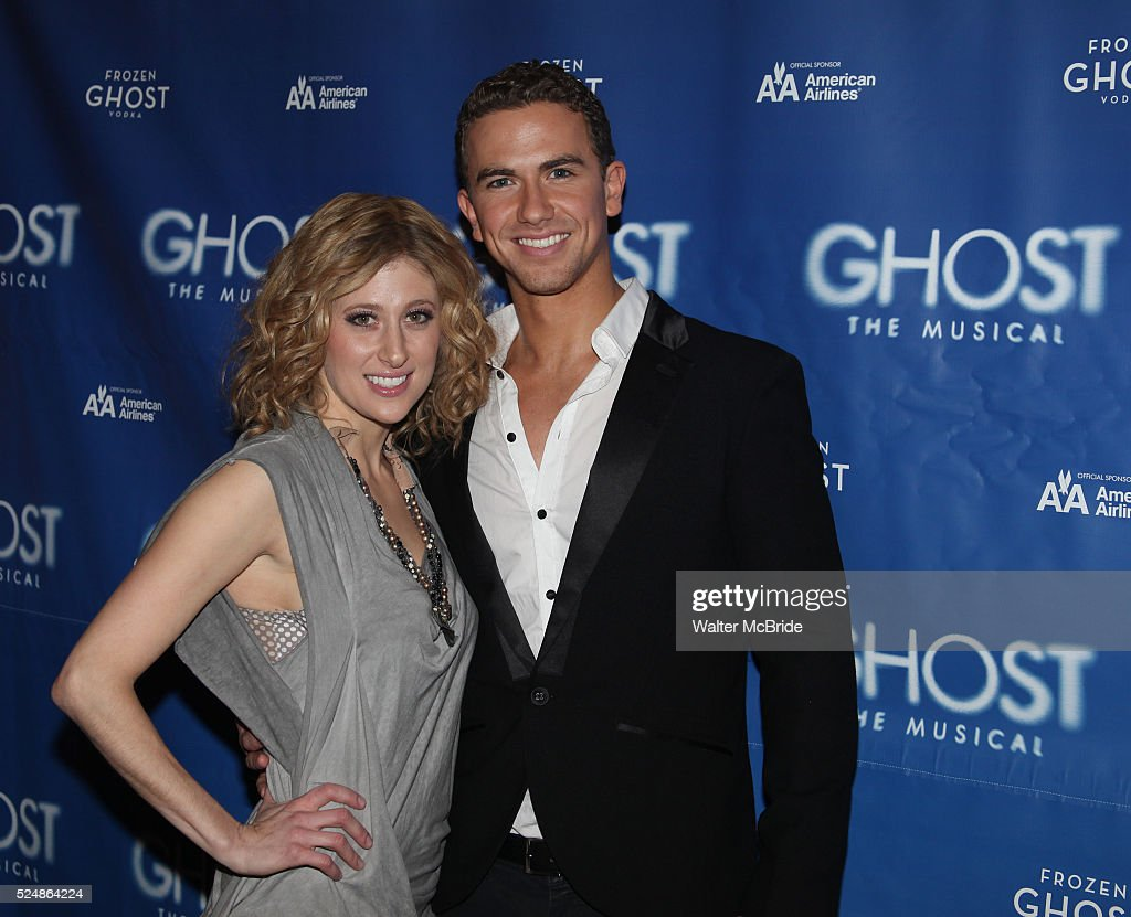 Usa ghost the musical meet greet pictures getty images caissie levy richard fleeshman attending the ghost the musical meet greet at kristyandbryce Images