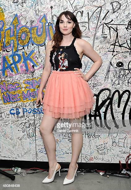 Cait Fairbanks attends A Very Heathers Prom hosted by Heathers the Musical at New World Stages on June 18 2014 in New York City