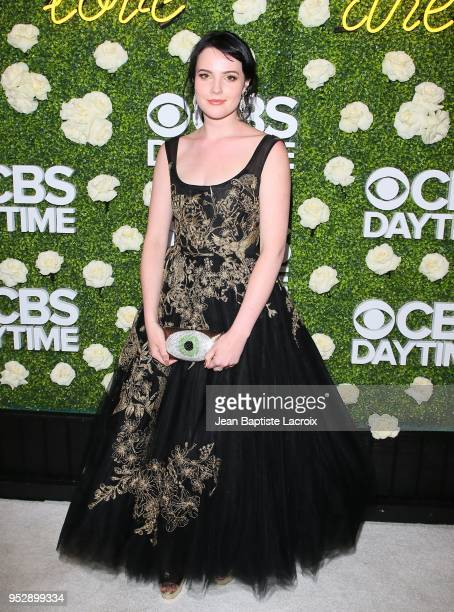 Cait Fairbanks attends the CBS Daytime Emmy After Party on April 29 2018 in Pasadena California