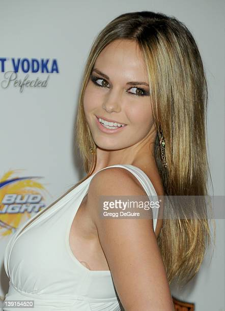 Caite Upton arrives at the 11th Annual Maxim Hot 100 Party at Paramount Studios on May 19 2010 in Los Angeles California