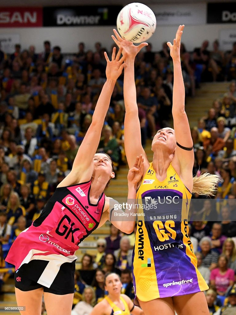 Super Netball Rd 5 - Lightning v Thunderbirds