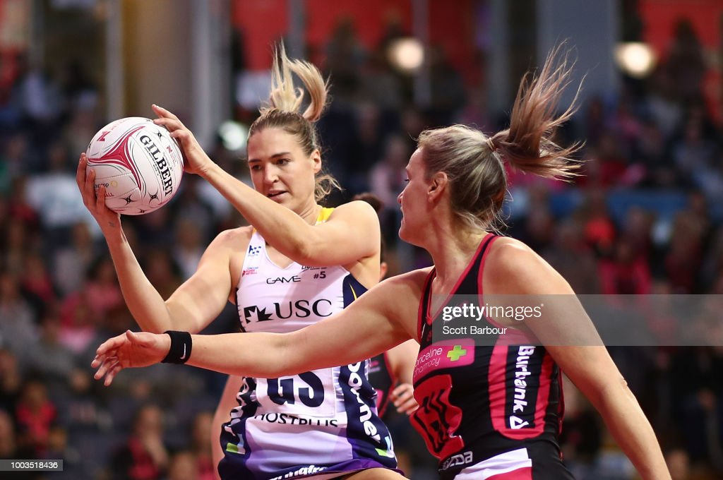 Super Netball Rd 12 - Thunderbirds v Lightning