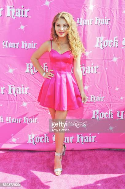 Caitlin Carmichael attends Rock Your Hair Presents 'Rock Your Summer' Party and Concert on June 3 2017 in Los Angeles California