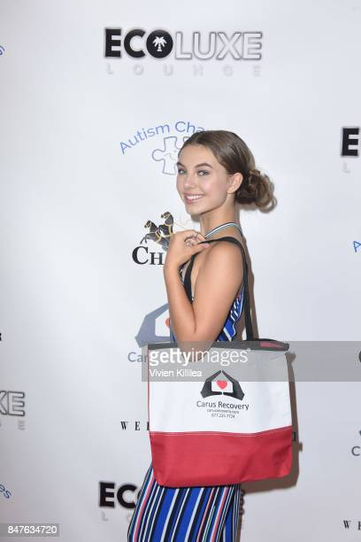 Caitlin Carmichael attends the EcoLuxe PreAwards Party on September 15 2017 in Beverly Hills California