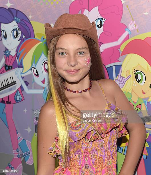 Caitlin Carmichael attends the premiere of My Little Pony Equestria Girls Rainbow Rocks at TCL Chinese Theatre on September 27 2014 in Hollywood...