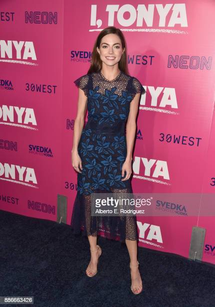 Caitlin Carver attends Premiere Of Neon's 'I Tonya' at the Egyptian Theatre on December 5 2017 in Hollywood California