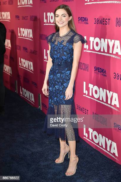 Caitlin Carver attends the Los Angeles Premiere Of 'I Tonya' Arrivals on December 5 2017 in Hollywood California