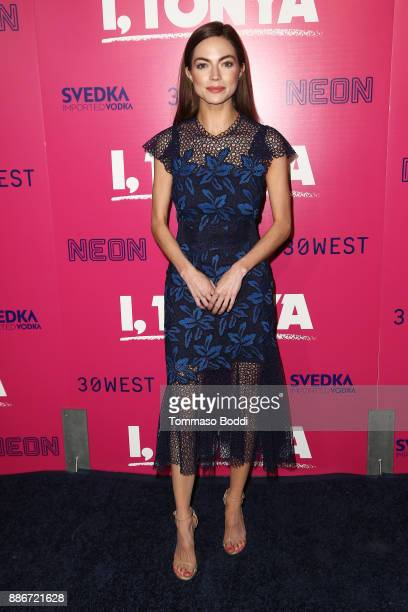 Caitlin Carver attends the Los Angeles Premiere of 'I Tonya' at the Egyptian Theatre on December 5 2017 in Hollywood California
