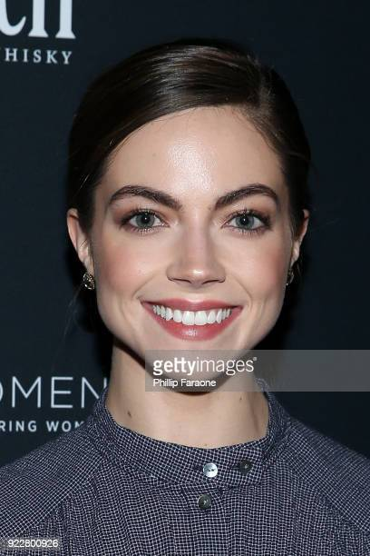 Caitlin Carver attends TheWrap's 2018 Women Whiskey and Wisdom Celebrating Women Oscar Nominees at Teddy's at The Hollywood Rooselvelt Hotel on...