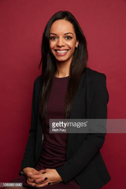 Caitlin Dickerson of FX's 'The Weekly' poses for a portrait during the 2019 Winter TCA Portrait Studio at The Langham Huntington Pasadena on February...