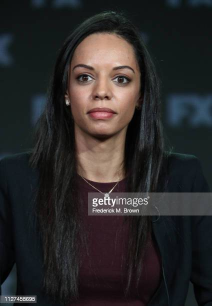 Caitlin Dickerson of the television show The Weekly speaks during the FX segment of the 2019 Winter Television Critics Association Press Tour at The...