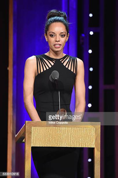 Caitlin Dickerson speaks onstage at The 75th Annual Peabody Awards Ceremony at Cipriani Wall Street on May 21 2016 in New York City