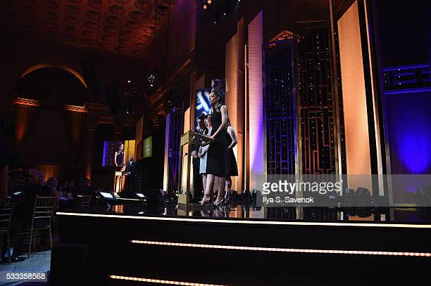 Caitlin Dickerson speaks onstage during The 75th Annual Peabody Awards Ceremony at Cipriani Wall Street on May 21 2016 in New York City
