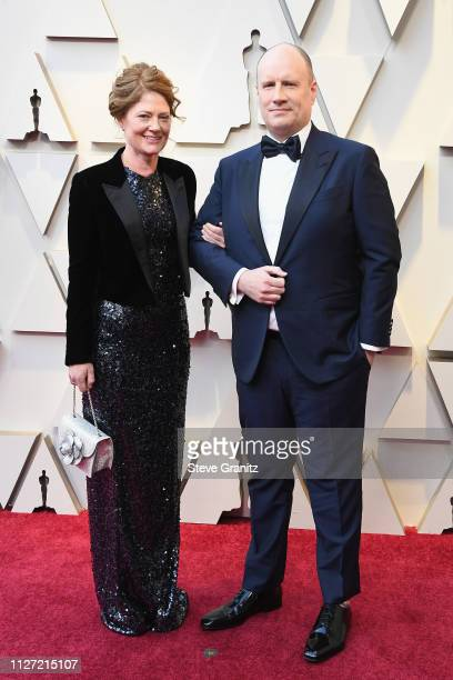 Caitlin Feige and Kevin Feige attends the 91st Annual Academy Awards at Hollywood and Highland on February 24 2019 in Hollywood California