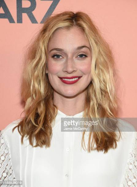 Caitlin FitzGerald attends the Sweetbitter Season Two NY premiere on June 12 2019 at The Roxy Cinema in New York City