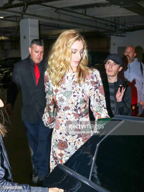 Caitlin FitzGerald is seen on February 04 2019 in Los Angeles California