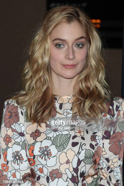 Caitlin Fitzgerald is seen on February 4 2019 in Los Angeles CA