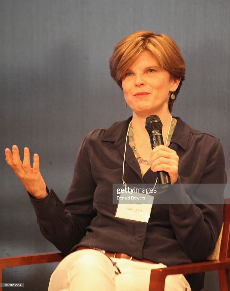 Caitlin Flanagan speaks during a panel at The Ford Foundation Hosts Day Of Discussion On The Hidden World Of Domestic Work In The US at Ford Foundation on November 27, 2012 in New York City.