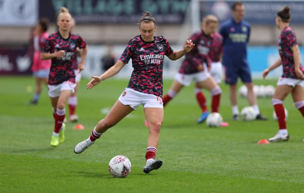 GBR: Arsenal Women v Aston Villa Women - Barclays FA Women's Super League
