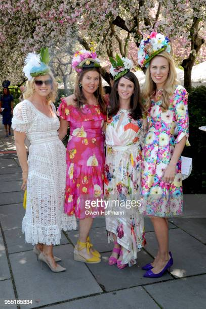 Caitlin Gambrill Angelique Famulak Lesley Dryden and Fiona Simmonds attend 36th Annual Frederick Law Olmsted Awards Luncheon Central Park Conservancy...