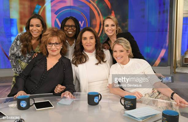 THE VIEW Caitlin Jenner is the guest Tuesday April 26 2017 on Walt Disney Television via Getty Images's The View The View airs MondayFriday on the...